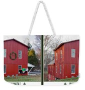 Happy Holidays - Gently Cross Your Eyes And Focus On The Middle Image Weekender Tote Bag