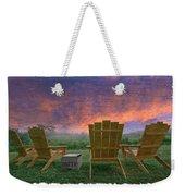 Happy Hour Weekender Tote Bag by Debra and Dave Vanderlaan