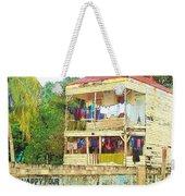 Happy Hour Washday Belize Weekender Tote Bag