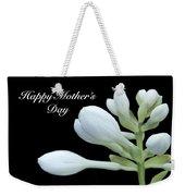 Happy Mothers Day Hosta Weekender Tote Bag