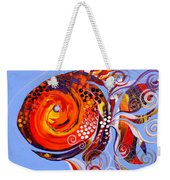 Happy Rainbow Fish Weekender Tote Bag