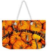Happy Thanksgiving Art Weekender Tote Bag