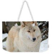 Happy Wolf Weekender Tote Bag