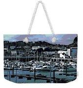 Harbor At Torquay Weekender Tote Bag