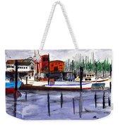 Harbor Fishing Boats Weekender Tote Bag