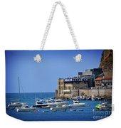 Harbor - North Coast Of Spain Weekender Tote Bag