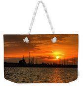 Harbor Sunrise Weekender Tote Bag