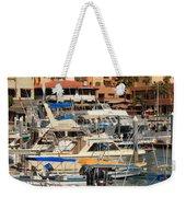 Harbor Waterfront In Cabo San Lucas Weekender Tote Bag