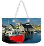 Harbour Mist In Peggy's Cove No 103 Weekender Tote Bag