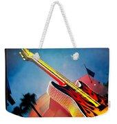 Hard Rock Guitar Weekender Tote Bag