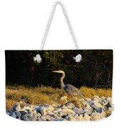 Hard Rock Heron Weekender Tote Bag