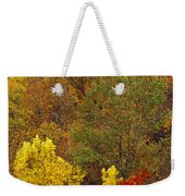Hardwood Forest With Maple And Oak Weekender Tote Bag