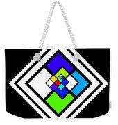 Harlequin Tile Weekender Tote Bag
