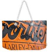 Harley Davidson Logo Weekender Tote Bag