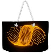 Harmonograph Phase Pattern Weekender Tote Bag