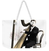 Harp Player Weekender Tote Bag