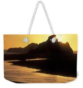 Harris Beach Sunset Weekender Tote Bag
