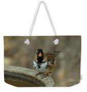 Harris's Sparrow Weekender Tote Bag