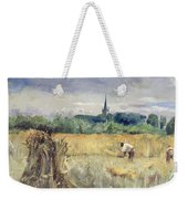 Harvest Field At Stratford Upon Avon Weekender Tote Bag