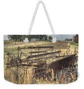 Harvester Sweep Wheel 1 Weekender Tote Bag