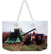 Harvesting Corn Weekender Tote Bag