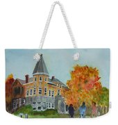 Haskell Free Library In Autumn Weekender Tote Bag
