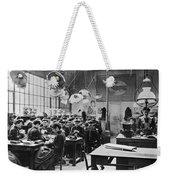 Hat Factory, C1900 Weekender Tote Bag