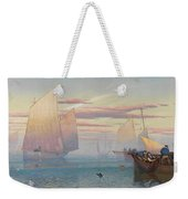 Hauling In The Nets Weekender Tote Bag by JB Pyne