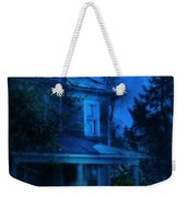 Haunted House Full Moon Weekender Tote Bag by Jill Battaglia