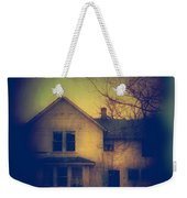 Haunted House Weekender Tote Bag by Jill Battaglia
