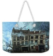 Haunted House Weekender Tote Bag by Jutta Maria Pusl