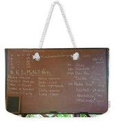 Hawaiian Alphabet Weekender Tote Bag