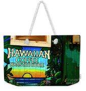 Hawaiian Coffee Weekender Tote Bag