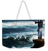 Hawaiian Fisherman Weekender Tote Bag