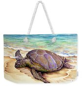 Hawaiian Green Turtle Weekender Tote Bag