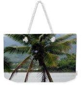 Hawaiian Palm Weekender Tote Bag