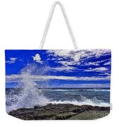 Hawaiian Surf Weekender Tote Bag