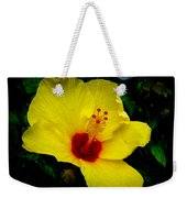 Hawaiian Yellow Hibiscus Weekender Tote Bag