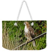 Hawk At A Wedding Weekender Tote Bag