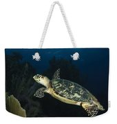 Hawksbill Sea Turtle Swimming Weekender Tote Bag