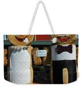 Hay Bale Wedding Weekender Tote Bag