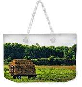 Hay Ride Weekender Tote Bag