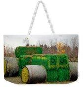 Hay Tractor Weekender Tote Bag