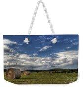 Haymaking Time Weekender Tote Bag