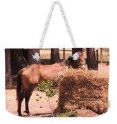 Hay's For Horses Weekender Tote Bag
