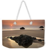 Hazy Oregon Sunset Weekender Tote Bag