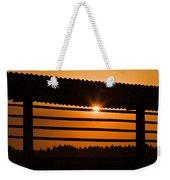 Hazy Summer Sunset Weekender Tote Bag