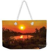 Hazy Sunrise Weekender Tote Bag
