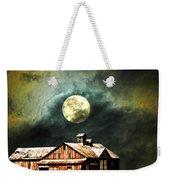 Hdr Moon And Barn Weekender Tote Bag