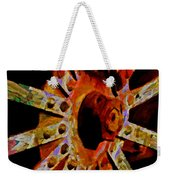 He Spoke Of Colours And Textures Weekender Tote Bag